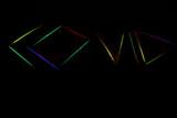 Fototapeta Tęcza - neon covid laser