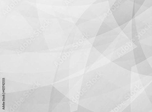 Abstract black and white transparent wavy lines background.