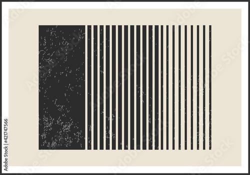 Obraz Trendy abstract creative minimalist artistic wall art composition - fototapety do salonu