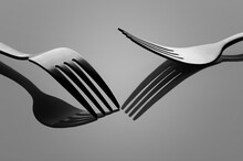 Two Forks On The Glass
