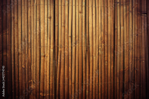 Fotografia Full Frame Shot Of Bamboos