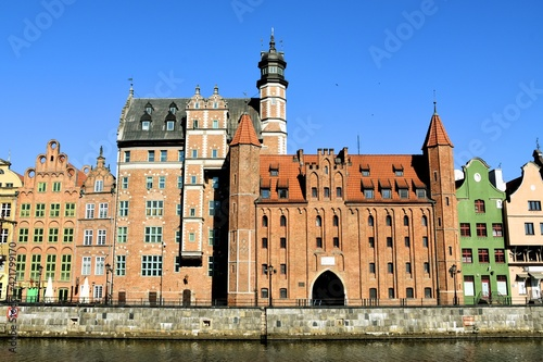 Fototapeta Gdansk, a historic, tourist Polish city, obraz