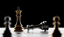 Chess Checkmate, Win And Lose