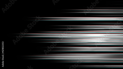Fototapeta Hi tech polygon texture . Neon Speed Lines. Glowing blurred led light stripes in motion over on abstract background rainbow rays. Future tech. Magic moving fast lines wallpaper. obraz
