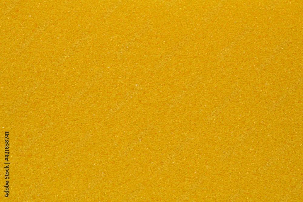 Fototapeta Yellow porous sponge texture background