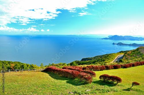 Fotografia 千畳敷から日本海を望む 山口県長門市