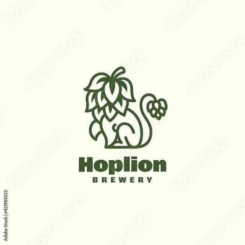Foto Hop lion logo