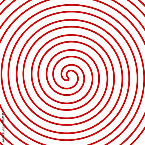 Obraz wektor spirala - fototapety do salonu
