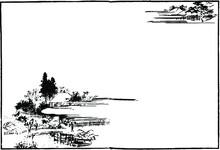 江戸の風景画:水車小屋