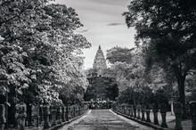 Phanom Rung Castle Historical Park, Ancient Thousand Years Khmer Castle Rock, Buriram Thailand