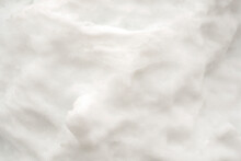 Abstract White Background. Snow Surface Texture. Macro.