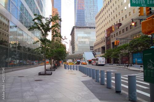 Fotografia street in Manhattan in New York City, NY