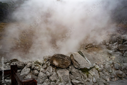 Canvas 温泉地の地獄谷