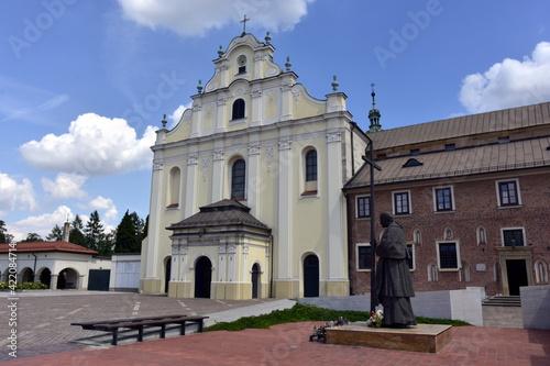 Klasztor i kościół w Mogile, dzielnica Nowa Huta, zabytek sakralny,