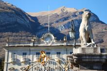 L'esterno Della Villa Sola Cabiati A Tremezzina, In Provincia Di Como.