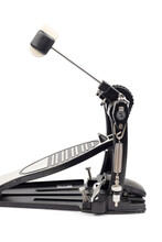 Bass Drum Pedal Isolated Above White Background