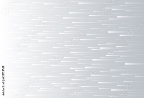 Fototapeta Abstract white and gray speed lines moving forward motion design background. Vector illustration obraz
