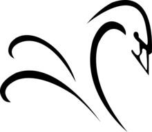 Swan Modern Logo Design