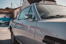 Vintage Silver 1971 Aston Martin DBS