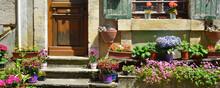 Panoramique Maison Des Milles Fleures à Excideuil (24160), Département De Dordogne En Région Nouvelle-Aquitaine, France