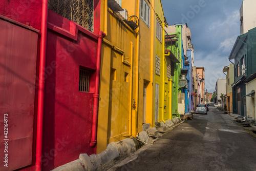 Narrow alley in Ipoh, Malaysia Tapéta, Fotótapéta