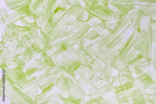 Fotografia, Obraz Abstract art background light green and white colors