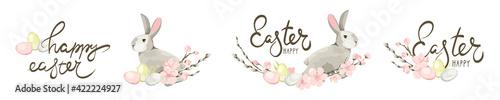 Fotografie, Obraz Stickers for Easter holidays