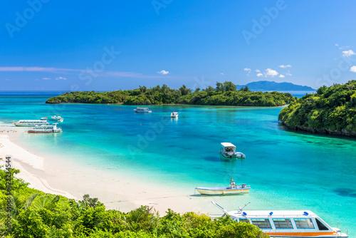 Fotomural 石垣島の川平湾の美しい風景