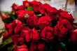 Kwiaty, róże ślubne, bukiet, kompozycja, czerwone kwiaty