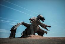Dragon Statue In The Sky