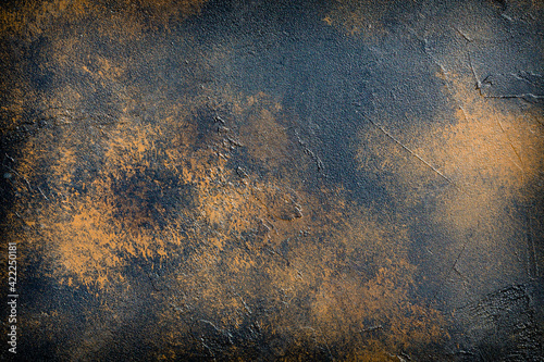 abstract brown background texture concrete wall - fototapety na wymiar