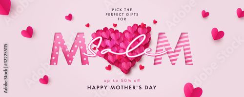 Fotografia Happy Mothers Day Sale banner