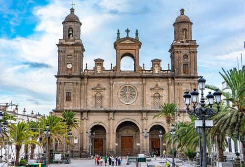 Santa Ana Cathedral, Las Palmas. Gran Canaria, Canary islands, Spain
