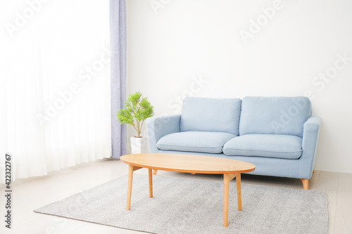 Obraz 誰もいないシンプルな部屋 - fototapety do salonu