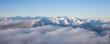 canvas print picture - Alpenpanorama
