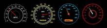 Car Speedometer Vector