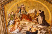 The Queen Of Heaven. Mural