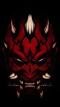 The Demon Mascot Illustration