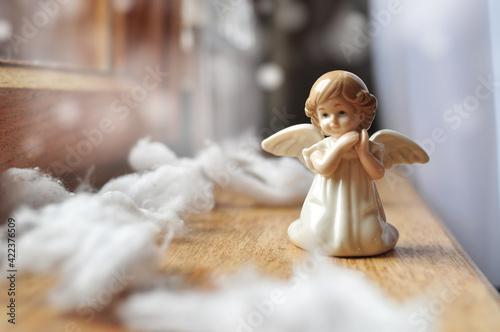 Foto Saint little angel in the sky