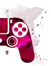 Red Gamepad  Playstation 4