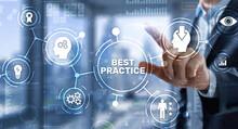 Best Practice Business Technology Internet Successful Business Concept