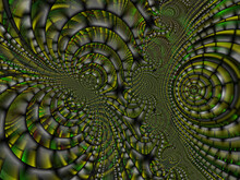 Brown Gray Design, Texture, Fractal, Abstract Green Background