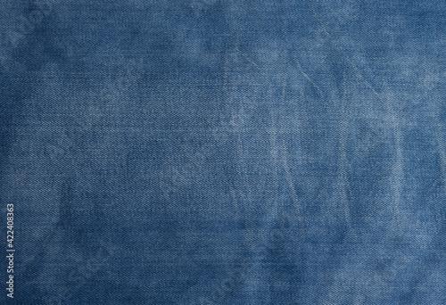 Tablou Canvas light blue denim for tailoring, full frame