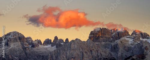Photographie Brenta Dolomite in Italy, Europe