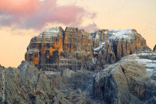 Canvas-taulu Brenta Dolomite in Italy, Europe