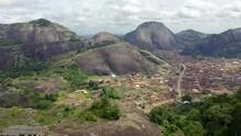 Aerial Reveal Of Idanre Hills