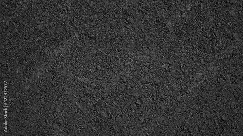 Tela Surface grunge rough of asphalt, Tarmac grey grainy road, Texture Background, To