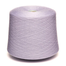 Colored Yarn Threads Purple Isolated
