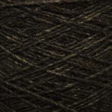 Colored Yarn Threads Black Macro