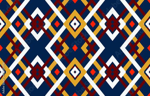 Fototapeta Tribal ethnic vector pattern